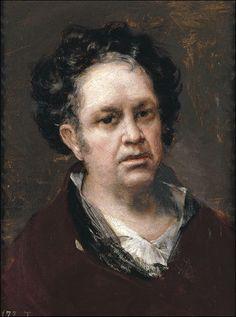 Francisco Goya, Self Portrait Francisco Goya, Spanish Painters, Spanish Artists, Famous Artists, Great Artists, Large Canvas Prints, Social Art, Painting Studio, High Society