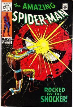 For sale marvel comics amazing spiderman 72 stan lee john romita artwork silver age comic book emorys memories. Marvel Comics, Comics Spiderman, Marvel Comic Books, Comic Books Art, Comic Art, Book Art, Marvel Heroes, Marvel Villains, Marvel Dc