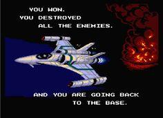 Aleste - MSX - ending