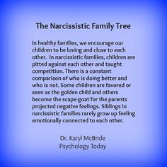 The narcissistic family tree. Explains the exact dynamic of my family. So incredibly sad. — Click HERE for Real Weight Loss Results -- http://realresultsin3weeks.info/