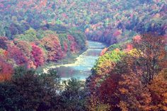 Youghiogheny River Gorge, in the Laurel Highlands of PA.