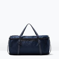 ZARA - SHOES & BAGS - TECHNICAL FABRIC BOWLING BAG