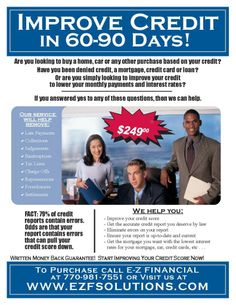 Copy Of Business Credit Repair Flyer Pinterest Editor And Bb