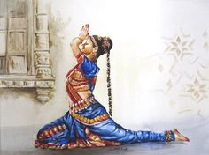 "indigenousdialogues:  Pakistani painter, Sohail IqbalWatercolor on paper22"" x 30"""