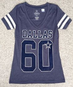 dbc3069bd You can only wear so many Cowboys shirts a week. But who says you need to  put a limit on your Cowboys pride  Take the Dallas Cowboys Practice Glitter  Tee.
