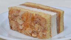 Přestože se jablečný pudink vařením rozjasní, v řezech lehce zrůžoví. Hungarian Cake, Vanilla Cake, Mexican Food Recipes, Banana Bread, Desserts, Polish, Inspiration, Yummy Cakes, Simple