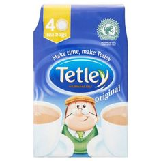 Tetley 40 Tea Bags 125G (Pack Of 12 X 40S) *** You can find more details by visiting the image link. (This is an affiliate link) #ChaiTea