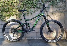 2015 Giant Trance Advanced 1 mountain bike at The Path Bike Shop Live Oak in Trabuco Canyon, CA. Custom Wheels, Custom Bikes, Giant Trance, Full Suspension Mtb, Giant Bikes, Mountain Bike Accessories, Trail Riding, Bike Trails