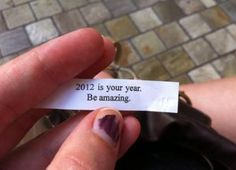 2012!! Is every ones year!!