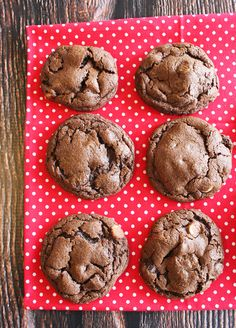 Double Chocolate Chip Cookies with milk and white chocolate chips