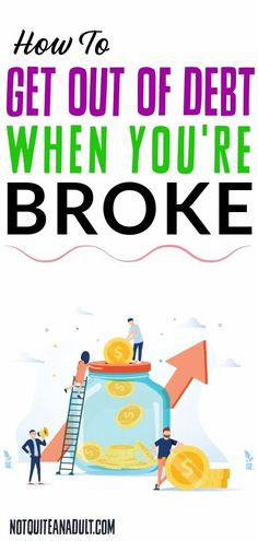 It is possible for you to get out of debt when you're broke and still be able to enjoy yourself a bit during the process.You can get out of debt when you're broke, it is just going to take a few small changes that you can make over the next few weeks and start making progress towards being better financially. Let's dig in to how to get out of debt when you're broke, and start changing your life! Buy Textbooks, Debt Snowball, Make A Plan, Get Out Of Debt, Debt Payoff, Trying To Lose Weight, Getting Out, How To Get Money, Money Saving Tips