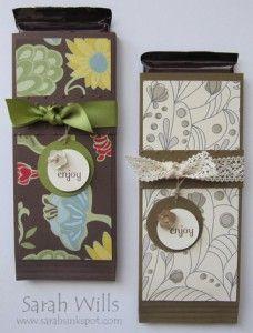 chocolate bar wrapper