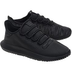 ADIDAS ORIGINALS Tubular Shadow Black // Leather mesh sneakers (1.706.760 IDR) ❤ liked on Polyvore featuring men's fashion, men's shoes, men's sneakers, mens leather shoes, mens black shoes, mens black leather shoes, mens mesh sneakers and mens mesh shoes