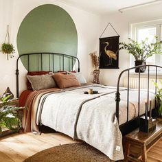 Sage Green Bedroom, Green Bedroom Decor, Home Decor Bedroom, Glamour Decor, Parents Room, Home Room Design, Home Office Decor, House Rooms, New Room