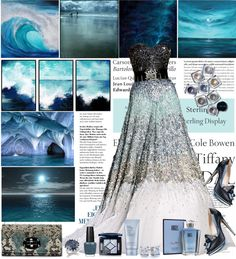 """""""Prom theme: Ocean"""" by shaneeeee ❤ liked on Polyvore"""