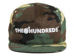 Bar Logo Snapback Cap by THE HUNDREDS