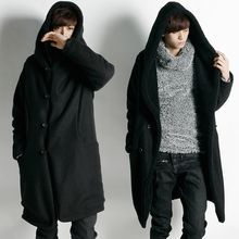 Rememberclick - Wool Blend Hooded Coat