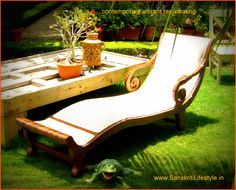Be refreshed, on our variety of beautiful teak wood chaise longues. Lifestyle Store, Indoor Outdoor, Outdoor Decor, Teak Wood, Sun Lounger, Woodworking Projects, Outdoor Furniture, Beautiful, Home Decor