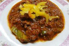 Jak uvařit pravý maďarský guláš   recept Food 52, Chili, Soup, Beef, Red Peppers, Cooking, Meat, Chile, Soups