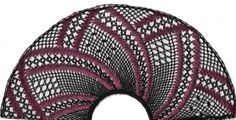 """Torchon Fan """"Rose"""" – Lace Making Pattern Torchon Bobbin Fan Lace Making Pattern Ideal for Intermediate lacemakers and those looking for a new challenge. Bobbin Lace Patterns, Lacemaking, Lace Heart, Lace Jewelry, Rose Lace, Lace Detail, Fabric Crafts, Tatting, Arts And Crafts"""