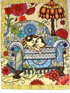 Creative Haven Creative Cats Coloring Book (Creative Haven Coloring Books): Marjorie Sarnat: 9780486789644: Amazon.com: Books By books and cats on Sep 11, 2015