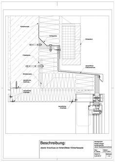 A-02-0012 Anschluss an hinterlüfteter Klinkerfassade-A-02-0012