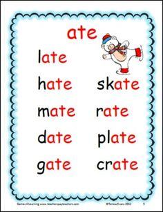 Long a Word Work Games and Activities Phonics Reading, Teaching Phonics, Kindergarten Reading, Teaching Reading, Teaching Kids, Reading Tips, Reading Games, Guided Reading, Word Work Games