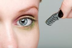 How to Apply Fake Eyelashes, for those of us who fail at it