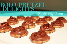 Superbowl Snacks: Rolo Pretzel Delights