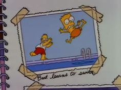 Memories of the Simpsons Simpson Wave, Lisa Simpson, Simpsons Quotes, The Simpsons, Los Simsons, Retro Cartoons, Futurama, Cute Photos, Cartoon Wallpaper