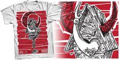 """Gzy Ex Silesia - Babayaga (Personal design)"" t-shirt design by Gzy Ex Silesia"