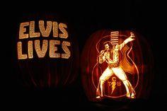 pumpkins that look like movie stars | Photos: Pumpkins Carved to Look Like Rock Stars Pictures - Elvis ...
