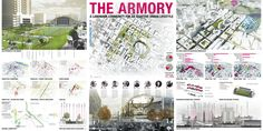 """ULI Announces Finalist Teams for 2013 Student Urban Design Competition,""""The Armory"""" / Kansas State University + University of Missouri-Kansas City + University of Kansas"""