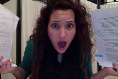 Freaking out and compiling everything in the final weekend!
