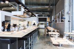 bulthaup Pub Design, Restaurant Design, Restaurant Bar, My Coffee Shop, Interior And Exterior, Interior Design, Commercial Design, Hotels, Interiors
