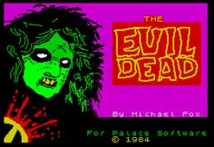 The Evil Dead, on Spectrum and Commodore 64