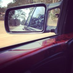 Kaeng Krajan Petchburi Car Mirror, Places, People, Lugares, Folk