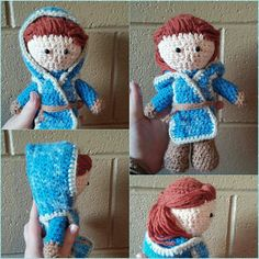 Ygritte crocheted doll i did! I love her so!. Game of thrones crocheted doll #Ygritte #gameofthrones #crocheted #doll