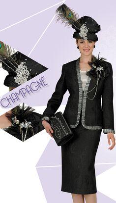 #Designer #Champagne #ChurchSuits #BigHats #NewLine