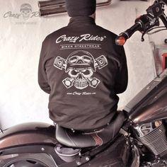 Crazy Rider® Sweatjacke  Biker Streetwear Shop