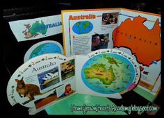 Australia Unit from Homegrown hearts Academy Australia Continent, Australia Day, Continents And Countries, Montessori, Little Passports, Old And New, Social Studies, Geography, Curriculum