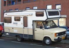 Place: Scheveningen, Den Haag Ford Transit Camper, Ford Vehicles, Tortoises, Car Ford, Mk1, Caravans, Campervan, Motorhome, Buses