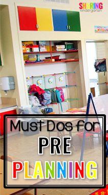 Must Dos for PrePlanning | classroom set up | teaching | teacher hacks | classroom organization | back to school