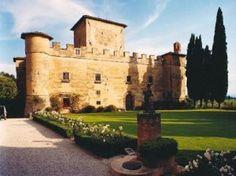 Castello della Paneretta, in località Monsanto nel comune di Barberino Val d'Elsa.