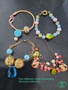 Summer Bracelets, Strand Bracelet, Organza Bags, Fashion Bracelets, Hippie Boho, Different Styles, Jewelery, Birthday Gifts, Shell