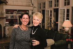 """Liz Habecker and Gail Rittenhouse at Milagro House's Evening of Miracles (""""Life of a Party,"""" October 2014; photos by Nick Gould)"""