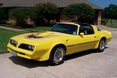My Favorite Trans Am in canary yellow.  1977/78 Pontiac Firebird Trans Am w/T-tops.