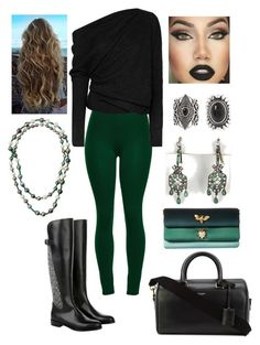 """""""ijk"""" by bama02614 on Polyvore featuring Tom Ford, Dolce&Gabbana, New Look, Assael, Yves Saint Laurent and Vintage"""
