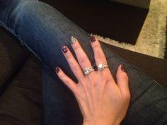 Purple chevron Purple Chevron, My Nails, Silver Rings, Jewelry, Jewlery, Jewerly, Schmuck, Jewels, Jewelery