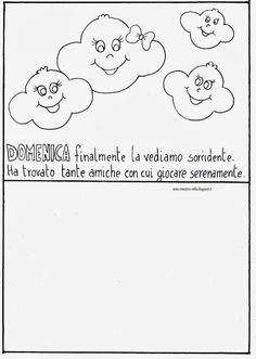 maestra Nella: La settimana della nuvoletta Olga
